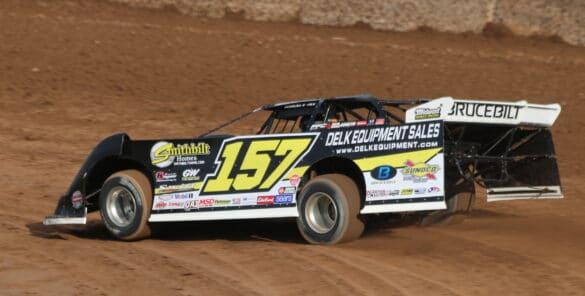 Dean Buescher NASCAR Dirt Race